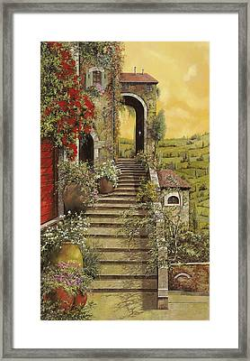 La Scala Grande Framed Print by Guido Borelli