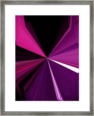 La Vie En Rose 13   3.23.14 Framed Print by Rozita Fogelman