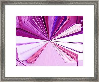 La Vie En Rose 20   3.23.14 Framed Print by Rozita Fogelman