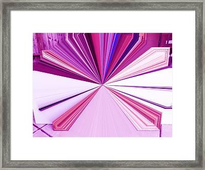 La Vie En Rose 21   3.23.14 Framed Print by Rozita Fogelman