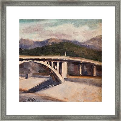 La Wash Framed Print by Athena  Mantle