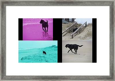 Labalicious Love Framed Print by R Kell