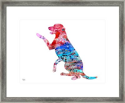 Labrador 3 Framed Print by Luke and Slavi
