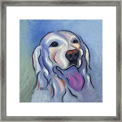 Labrador Retriever Framed Print by Karen Zuk Rosenblatt