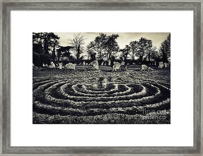 Labyrinth Framed Print by Tim Gainey
