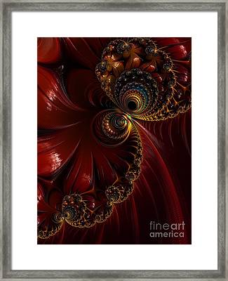 Lacquered  Framed Print by Heidi Smith