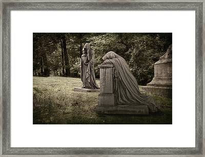 Ladies Of Sorrow Framed Print by Tom Mc Nemar