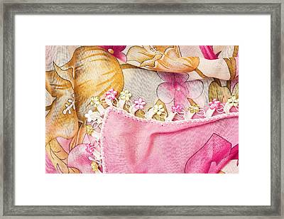 Ladies' Scarf Framed Print by Tom Gowanlock