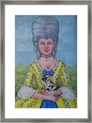 Lady Abigail Framed Print by Beth Clark-McDonal