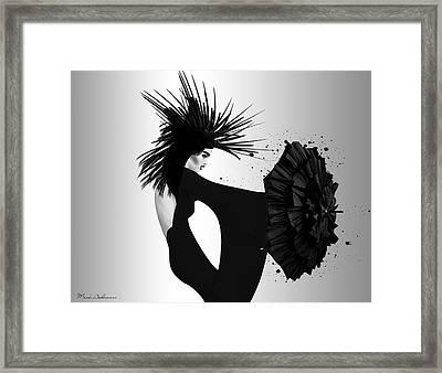 Lady D 2 Framed Print by Mark Ashkenazi