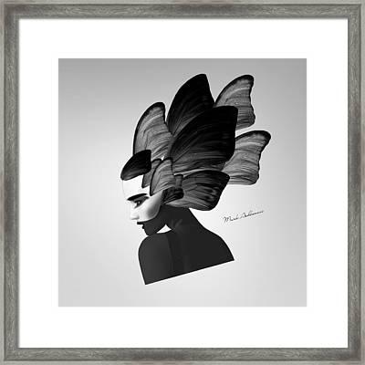 Lady D  Framed Print by Mark Ashkenazi