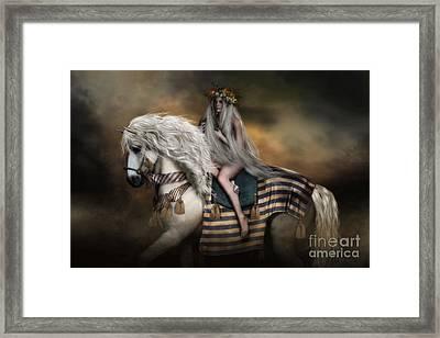 Lady Godiva Framed Print by Shanina Conway