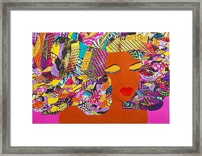 Lady J Framed Print by Apanaki Temitayo M