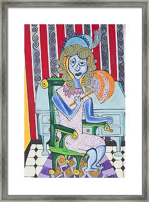 Lady Laura Framed Print by Daniel Burtea