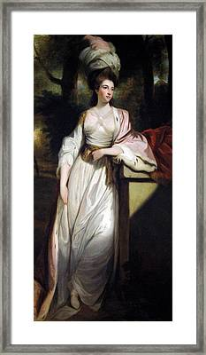 Lady Mary Isabella Somerset Framed Print by Robert Smirke