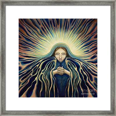 Lady Of Light Framed Print by Lyn Pacificar