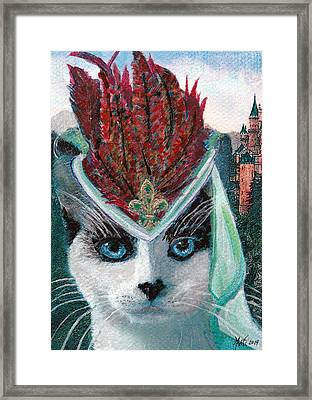 Lady Snowshoe Framed Print by Michele  Avanti