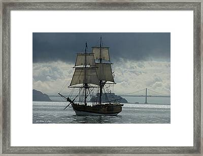 Lady Washington Framed Print by Sabine Stetson