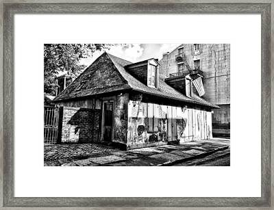 Lafittes Blacksmith Shop Bar Framed Print by Bill Cannon