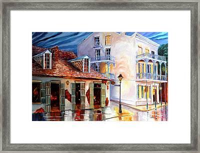 Lafitte's Guest House On Bourbon Framed Print by Diane Millsap