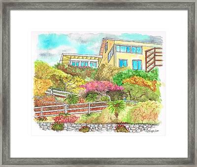 Laguna Beach - California Framed Print by Carlos G Groppa