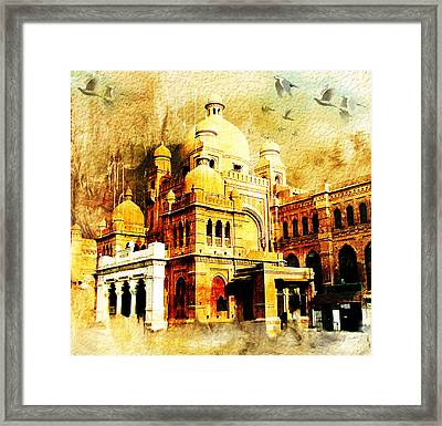 Lahore Museum Framed Print by Catf