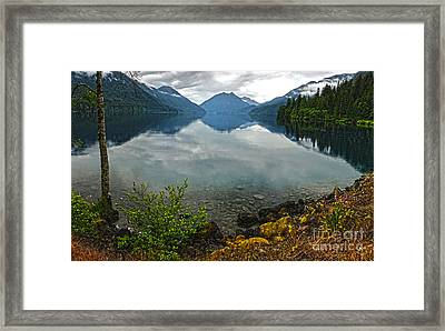 Lake Crescent - Washington - 04 Framed Print by Gregory Dyer