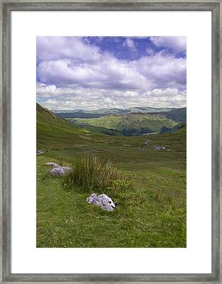 Lake District Cumbria - 4 Framed Print by Chris Smith