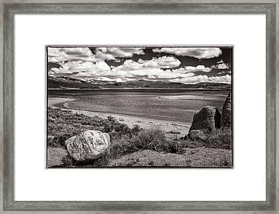 Lake Granby Framed Print by Joan Carroll