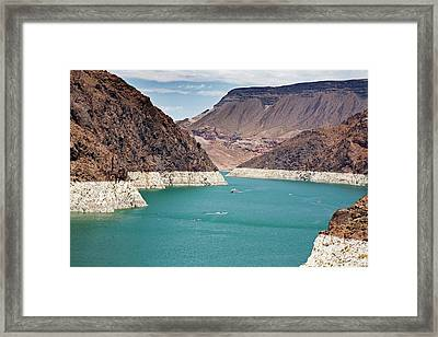 Lake Mead Reservoir Framed Print by Jim West