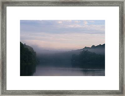 Lake Mohegan Framed Print by Stephanie McDowell