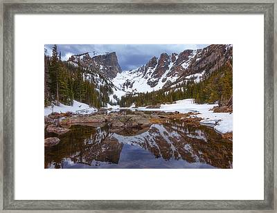 Lake Of Dreams Framed Print by Darren  White