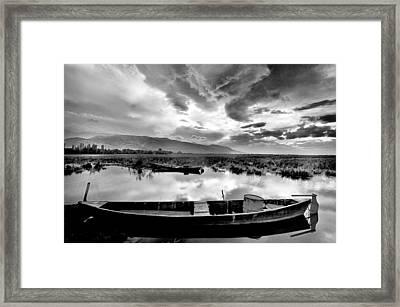 Lake Framed Print by Okan YILMAZ