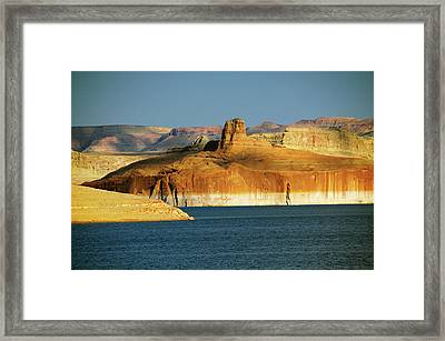 Lake Powell, Glen Canyon National Framed Print by Michel Hersen
