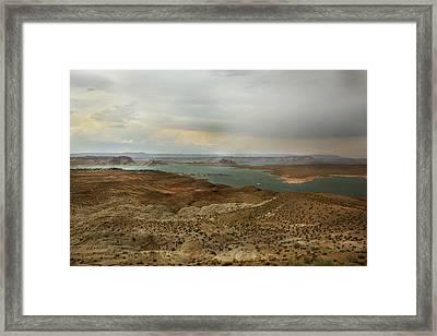 Lake Powell  Framed Print by Joseph G Holland
