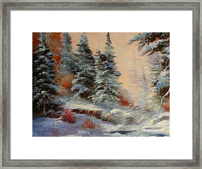 Lake Tahoe Framed Print by Gail Salituri