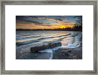 Lake Yankton Minnesota Framed Print by Aaron J Groen