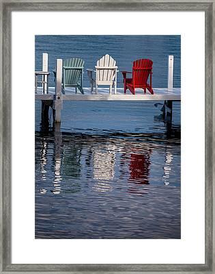 Lakeside Living Number 2 Framed Print by Steve Gadomski
