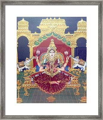 Lakshmi Framed Print by Jayashree