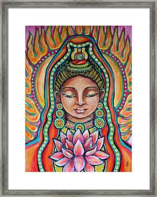 Lakshmi Framed Print by Shelley Bredeson