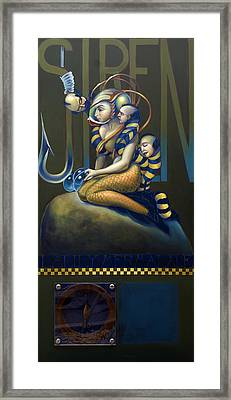 Lalilly Mermalade Wip Framed Print by Patrick Anthony Pierson