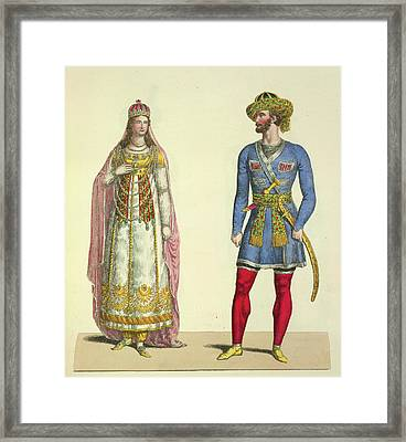 Lalla Roukh Framed Print by British Library