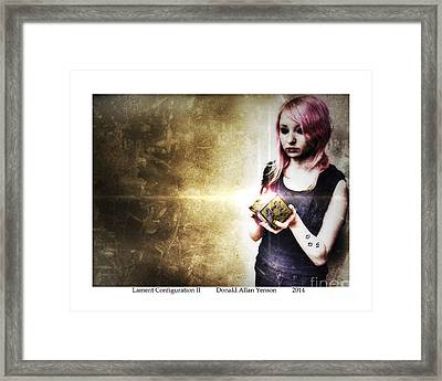 Lament Configuration II Framed Print by Donald Yenson
