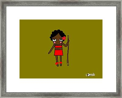Lamhub Framed Print by Watcharee Suebkhajorn