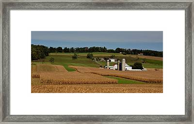 Lancaster County Farm Framed Print by William Jobes