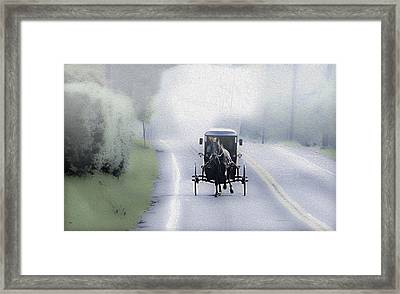 Lancaster County Pennsylvania Framed Print by Bill Cannon