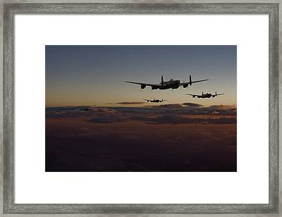 Lancaster -mainstream Framed Print by Pat Speirs