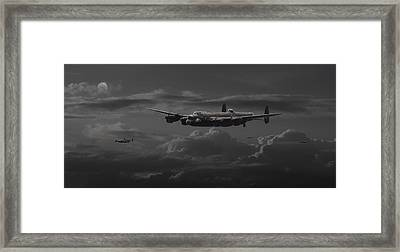 Lancaster - No More............. Framed Print by Pat Speirs