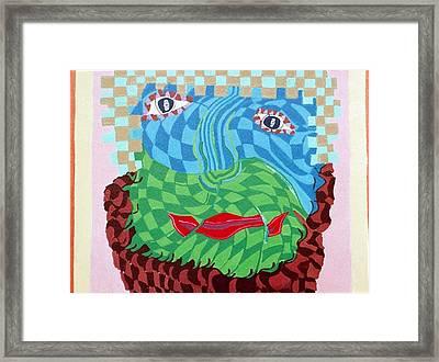Land 4 Framed Print by Howard Yosha