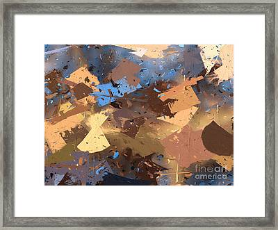 Land And Sea Framed Print by Heidi Smith